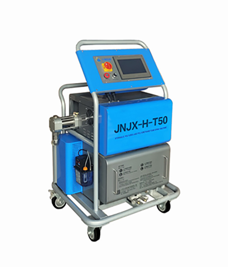 聚脲喷涂亚虎下载app型号:JNJX-T50型